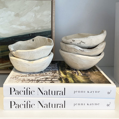 Texture Imports Small Natural Bowl