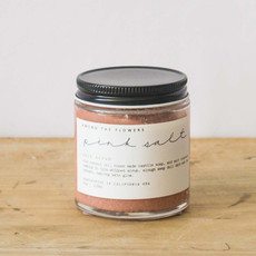 Among the Flowers Salt Scrub- Pink Salt