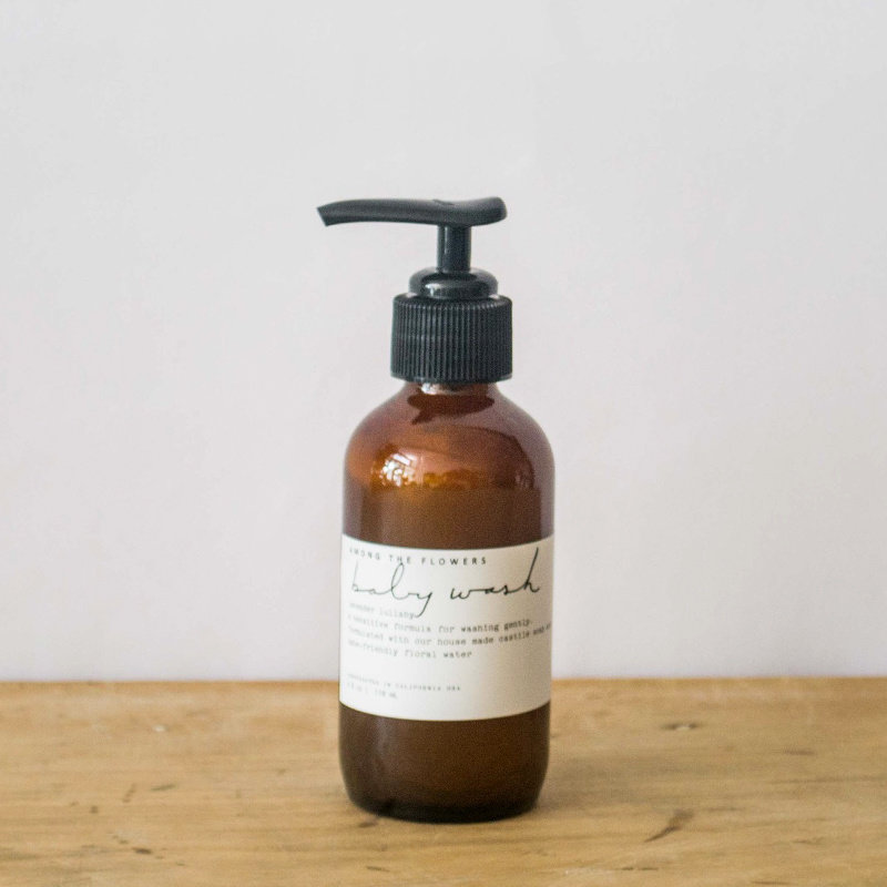 Among the Flowers Among the Flowers, Baby Wash, 4 oz.