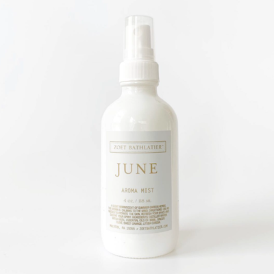 Zoet Bathlatier Botanical Aroma Mist, June Collection