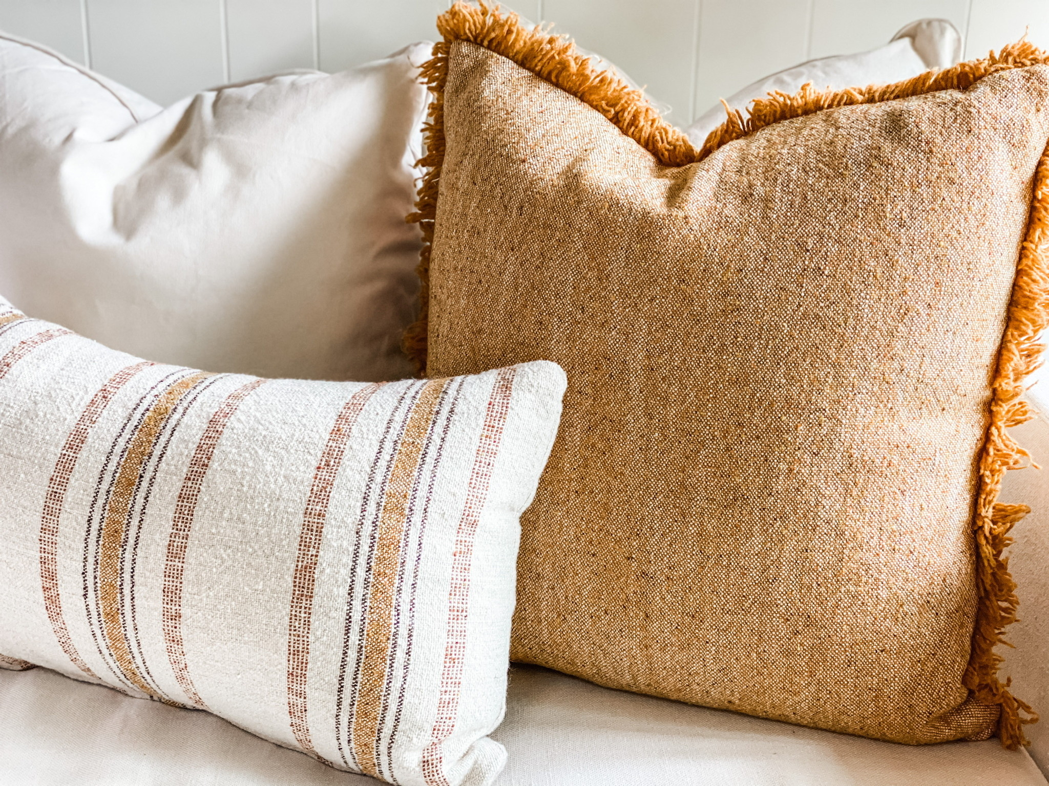 Olive and Rose Pillows