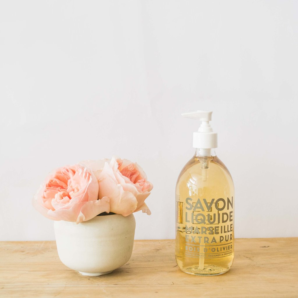 Compagnie de Provence Compagnie de Provence, Olive Wood Liquid Soap, 16.9 oz.