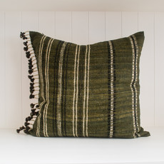 "Akriti Charcoal 22"" x 22"" Pillow with insert"