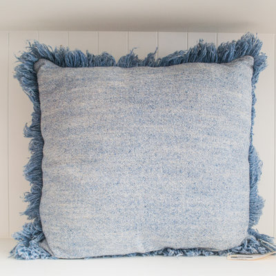 Uniquity/ MC America Judd Pillow Light Blue 23x23
