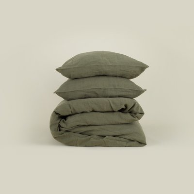 Hawkins New York Simple Linen Euro Sham - Olive