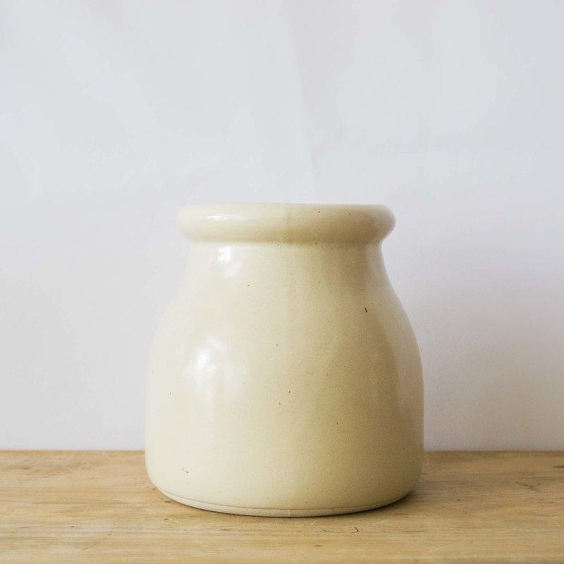 Ceramic Vessel- Cream