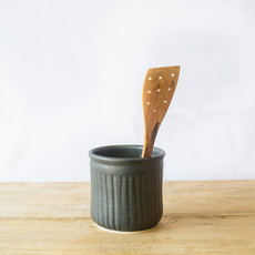 Be Home Olive Wood Spatula with Holes