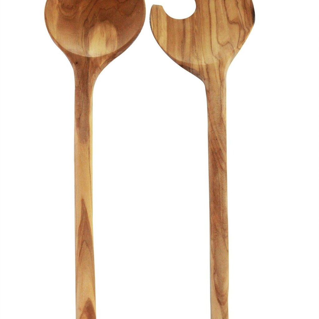 Be Home Olivewood Crescent Serving Set
