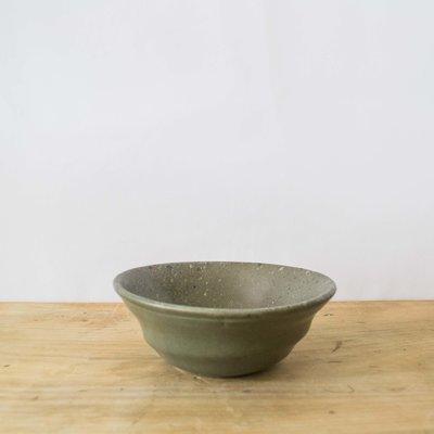 Blue Pheasant Marcus Salt Glaze Cereal/Ice Cream Bowl in Gray