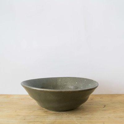Blue Pheasant Marcus Salt Glaze Pasta/Soup Bowl in Gray