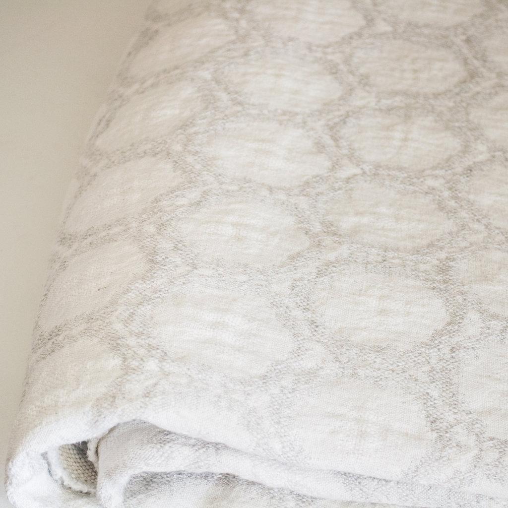 Uniquity/ MC America Dakhla Honeycomb Linen Throw