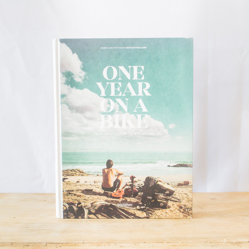 One Year on a Bike Hardcover