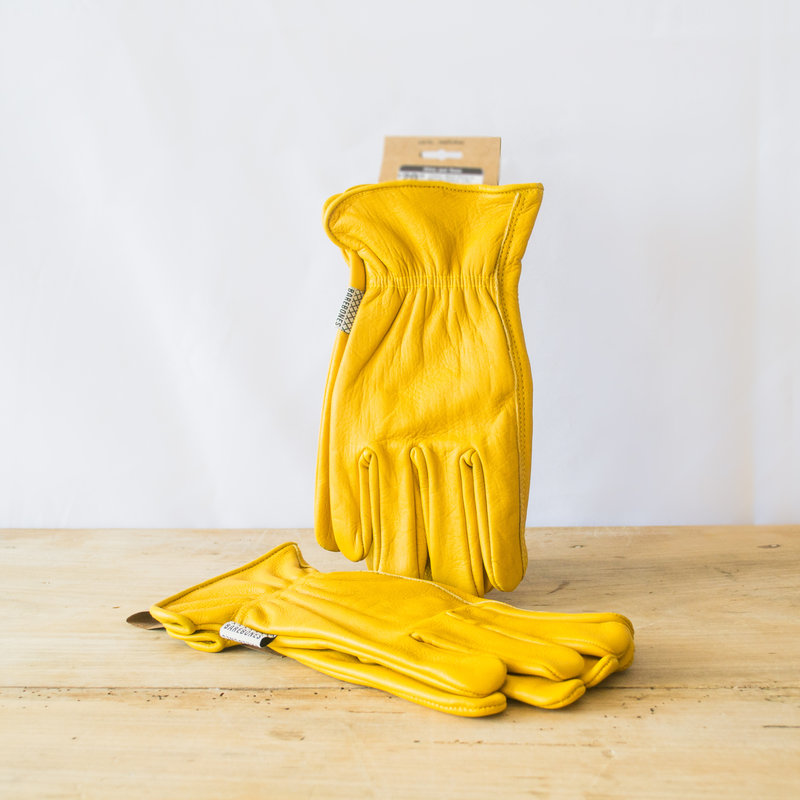 Barebones Living Classic Work Glove in Natural Yellow, S/M