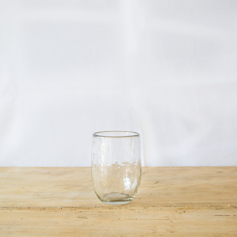 Pebbled Small Glasses- Set of 2