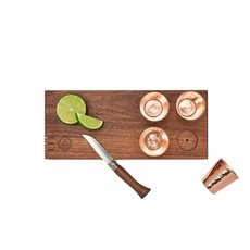 Son of a Sailor Copper and Wood Shot Board