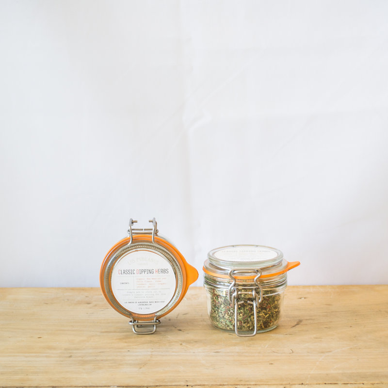 Los Poblanos Classic Dipping Herbs Jar