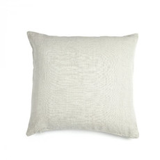 """Libeco 25""""x25"""" Re Linen Pillow Silver with insert"""