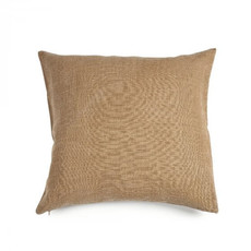 "Libeco 25""x25"" Re Linen Pillow Pain D'Epice with insert"