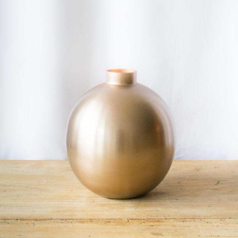 Be Home Rose Spherical Vase, Large