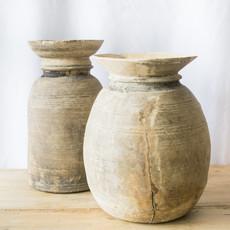 Wooden Antique Pot