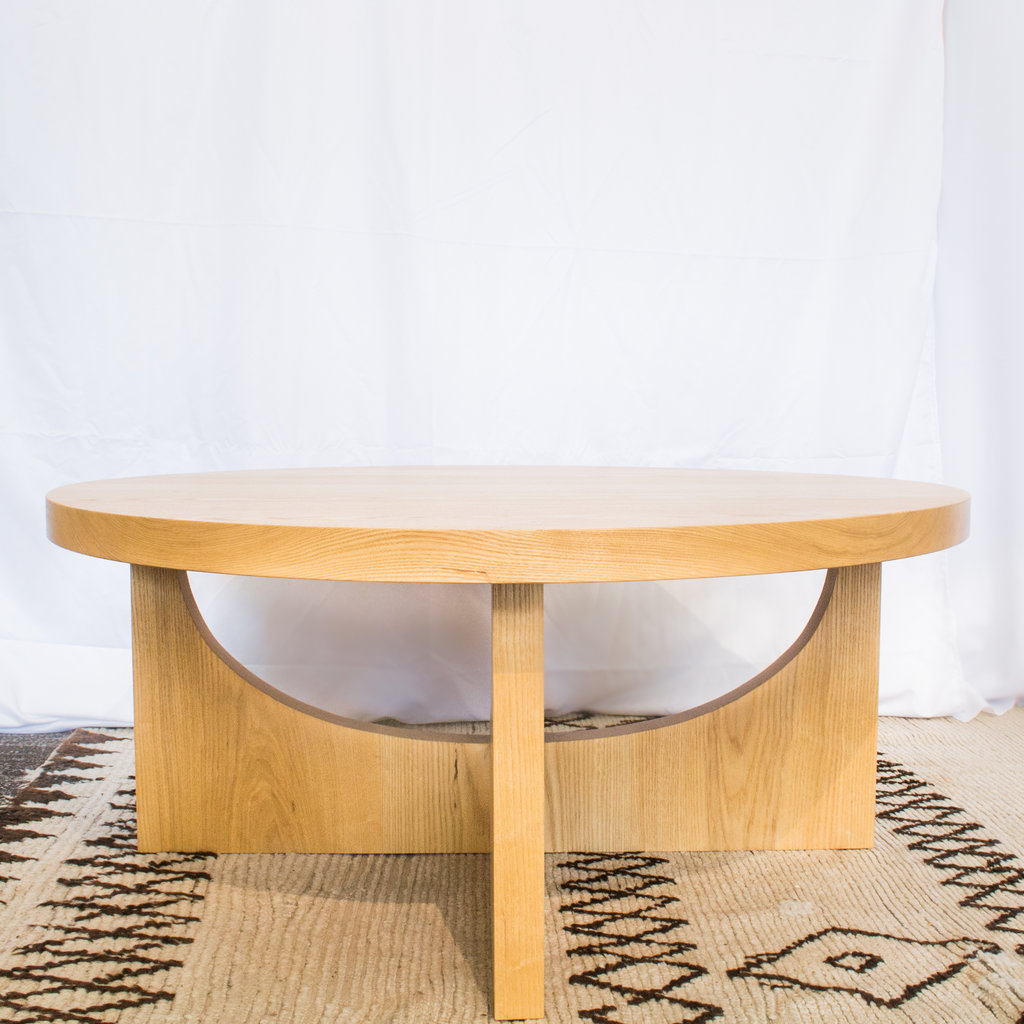 "Arthur 42"" Cocktail Table- Natural"