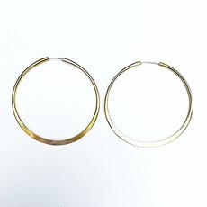 Watersandstone Full Circle Hoop Earrings