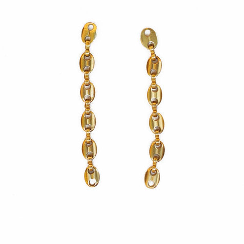 Watersandstone Join Earrings