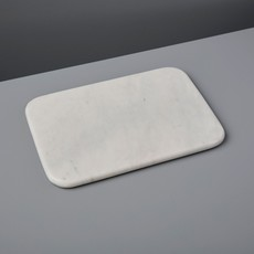 Be Home White Marble Pastry Slab, Small