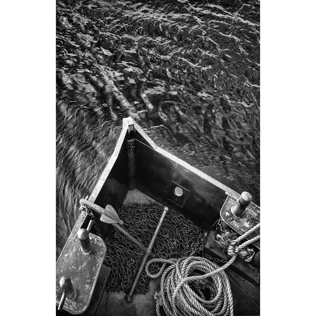 "GMoulin Limited Editions GMoulin, ""The Last Ferry"", 39.5 x 60.5"