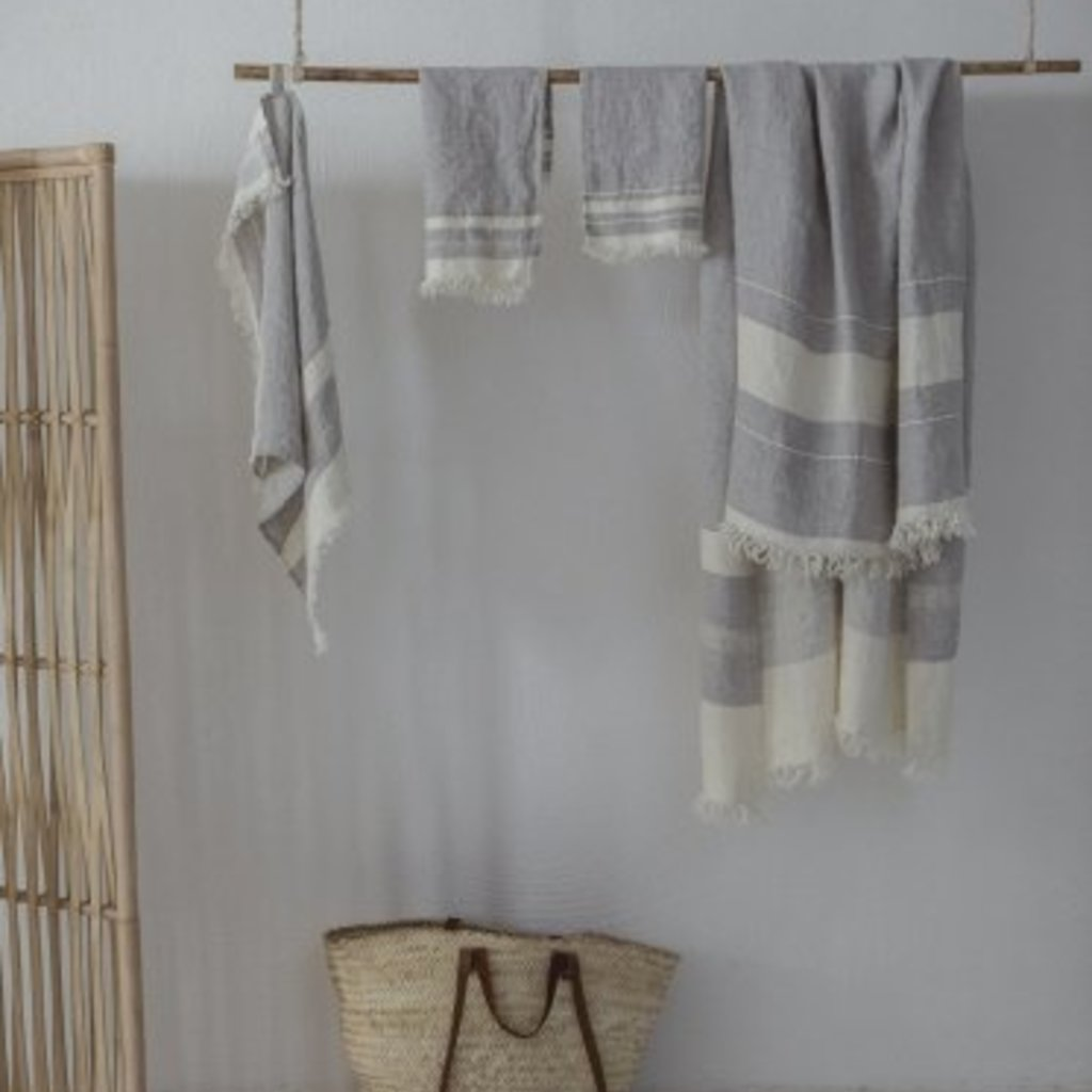 Libeco Belgian Guest Towel Gent Stripe