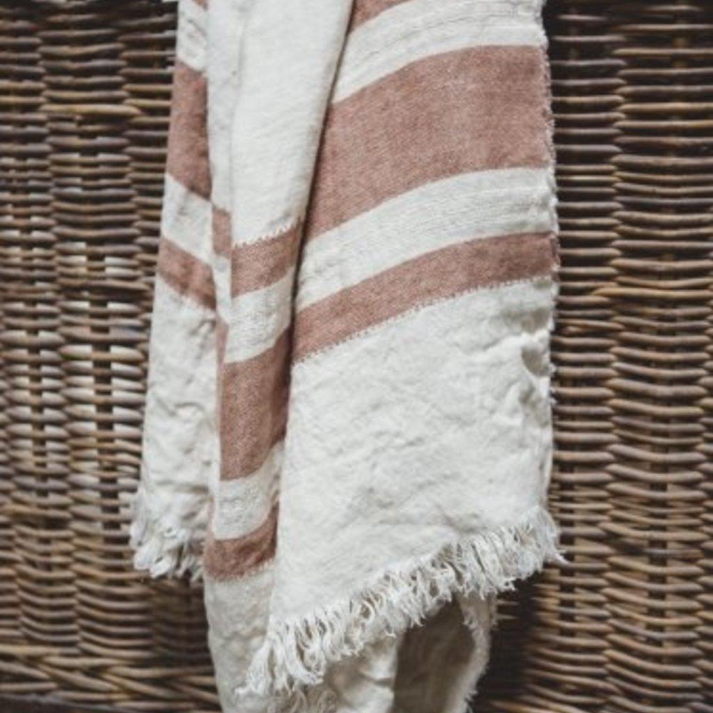 Libeco Belgian Towel Fouta Harlan Stripe