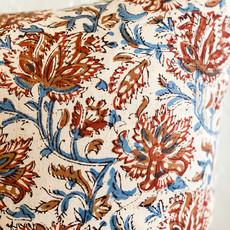 Indian Block Print Pillow/insert