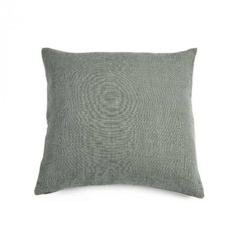 Libeco Re Linen Pillow- Hunter Green