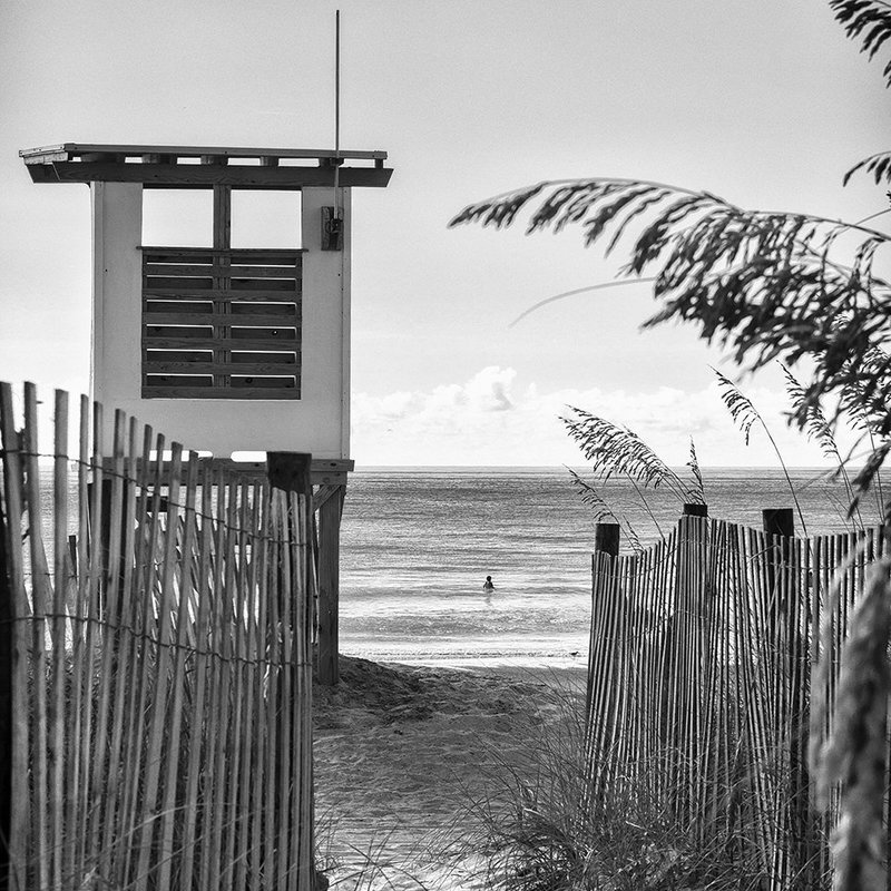 """GMoulin Limited Editions G Moulin Limited Editions """"Lifeguard Tower No. 2"""""""