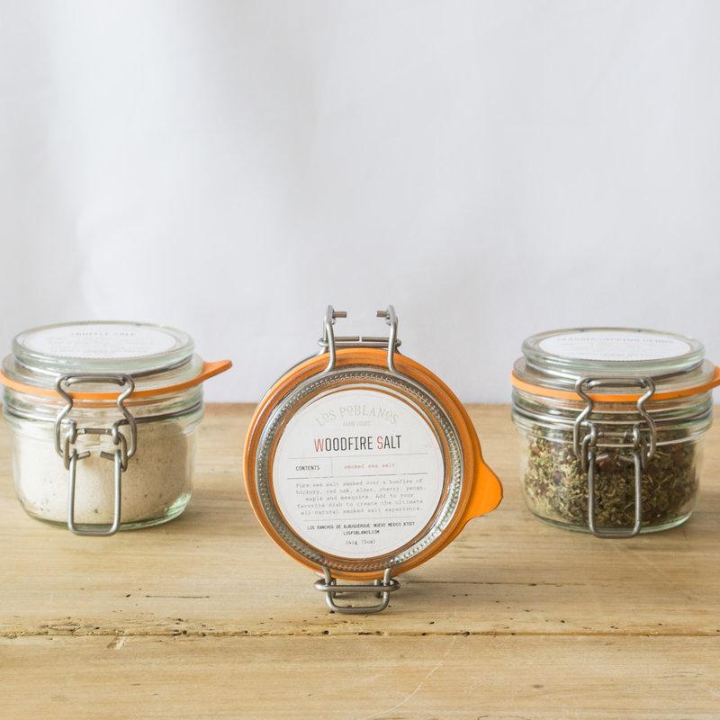 Los Poblanos Woodfire Salt Jar