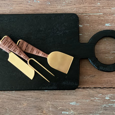 Be Home Black Mango Wood Long Cutting Board