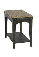 Kincaid Kincaid Plank Road Charcoal Artisans Chairside Table (706-916C)