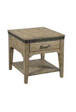 Kincaid Kincaid Plank Road Artisans End Table in Stone (706-915S)