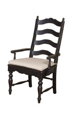 Kincaid Kincaid Homecoming Pine Black Ladderback Arm Chair (33-062B)