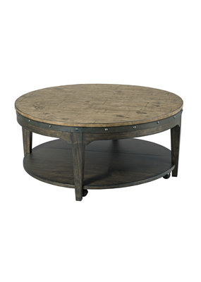 Kincaid Artisans Round Cocktail Table (Stone)