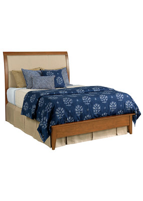 Kincaid Honey Upholstered Insert King Headboard