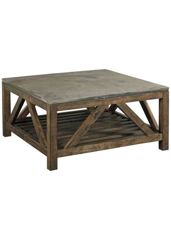 Kincaid Stone Top Square Cocktail Table