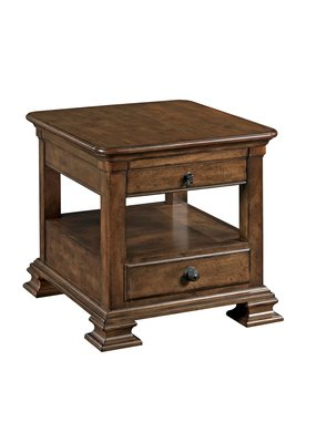 Kincaid Rectangular End Table w/Drawer