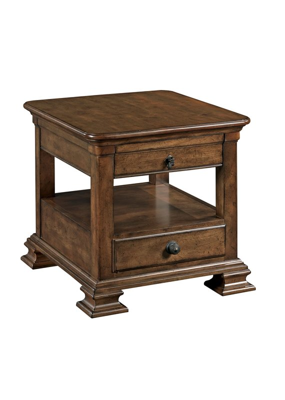 Kincaid Rectangular End Table w/Drawer