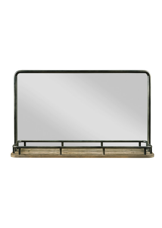 Kincaid Westwood Landscape Mirror (Stone) AS-IS