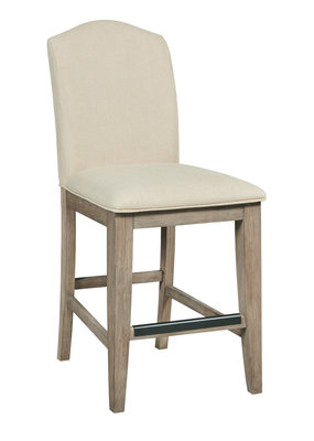 Kincaid Parsons Counter Height Chair (Heathered Oak)