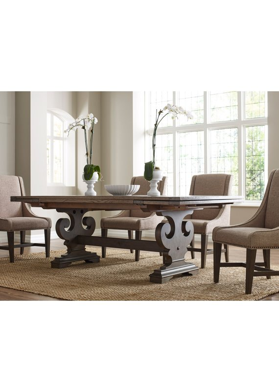 Kincaid Crawford refractory dining table