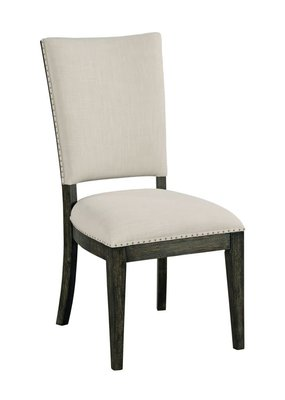 Kincaid Howell Upholstered Side Chair (Charcoal)