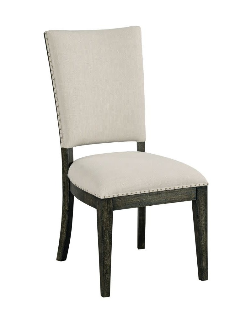 Kincaid Kincaid Plank Road Howell Upholstered Side Chair in Charcoal (706-622C)