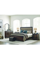 Kincaid Kincaid Wildfire Tweed Queen Upholstered Complete Bed (86-150P)